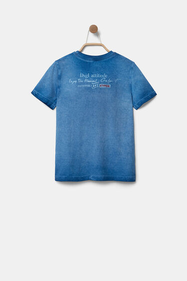Lion print T-shirt bolimania | Desigual
