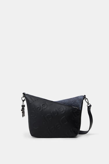 Shoulder bag double fastener | Desigual