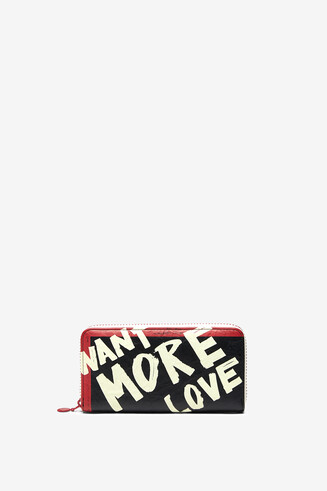 More love rectangular purse