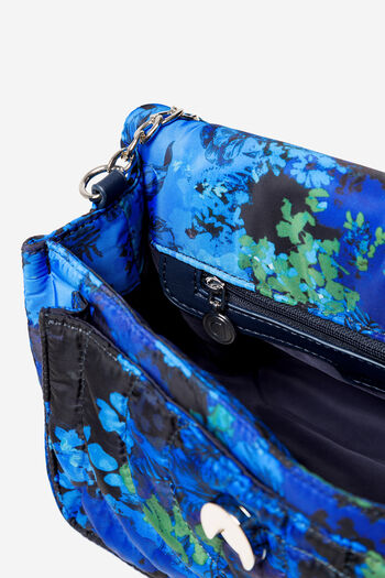 Padded bag with floral camouflage | Desigual