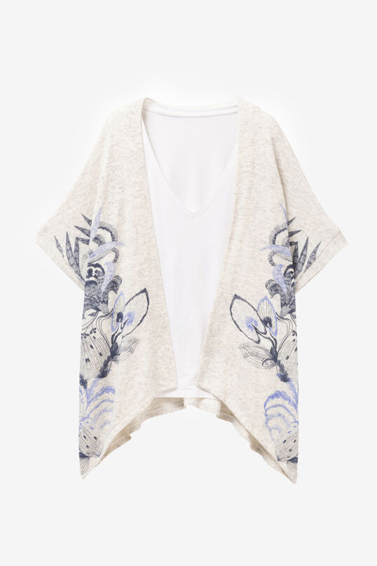 Multilayer jumper with jacket Lorna | Desigual