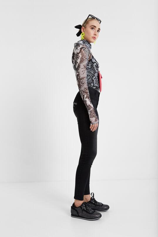 2nd skin denim trousers | Desigual