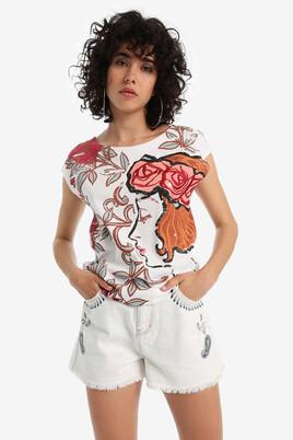 Woman's profile T-shirt Susurro