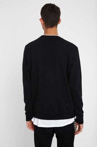 Sweat-shirt D inversée éponge | Desigual
