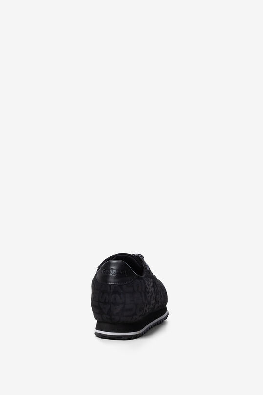 Khaki logomania sneakers   Desigual