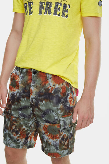 Pantaloni cargo tie-dye | Desigual