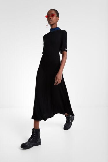 Knit T-shirt dress | Desigual