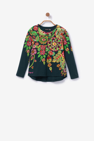 Floral sequinned T-Shirt   Desigual