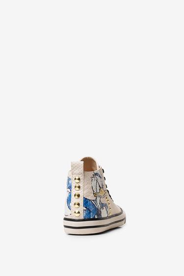 Donald Duck trainer boots | Desigual