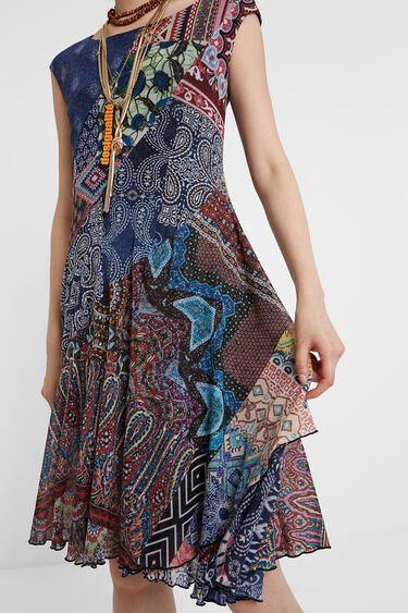 Boho-jurk met patch | Desigual