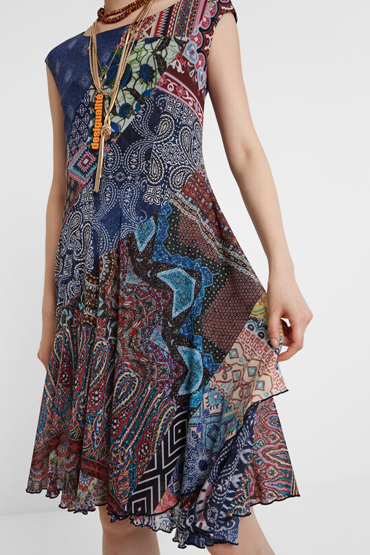 Boho patch dress | Desigual