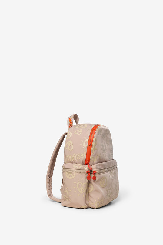 Peace and love Desigualité backpack | Desigual