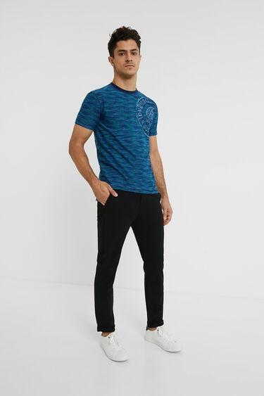 Jacquard print T-shirt | Desigual