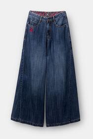 Pantalon en jean wide leg Tencel™ | Desigual