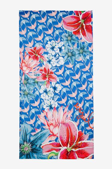 Halstuch mit Blumen und Vögeln Birdy | Desigual