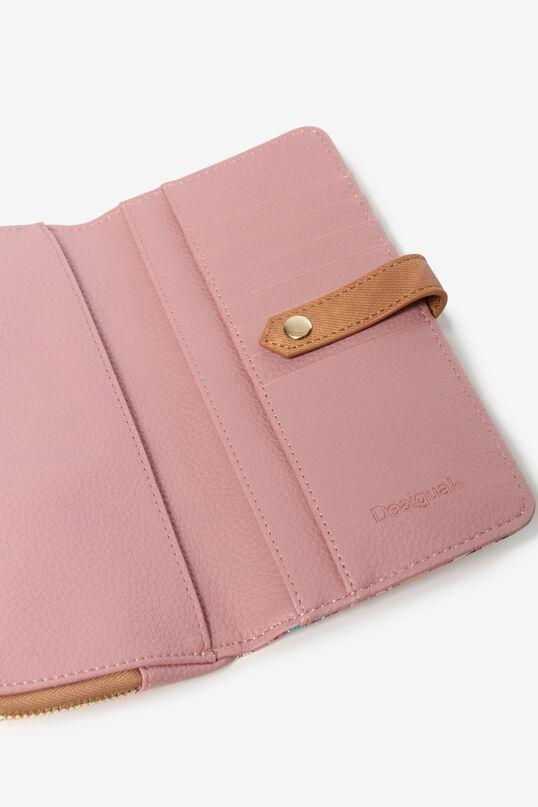 Rechteckige rosa Geldbörse Ester   Desigual