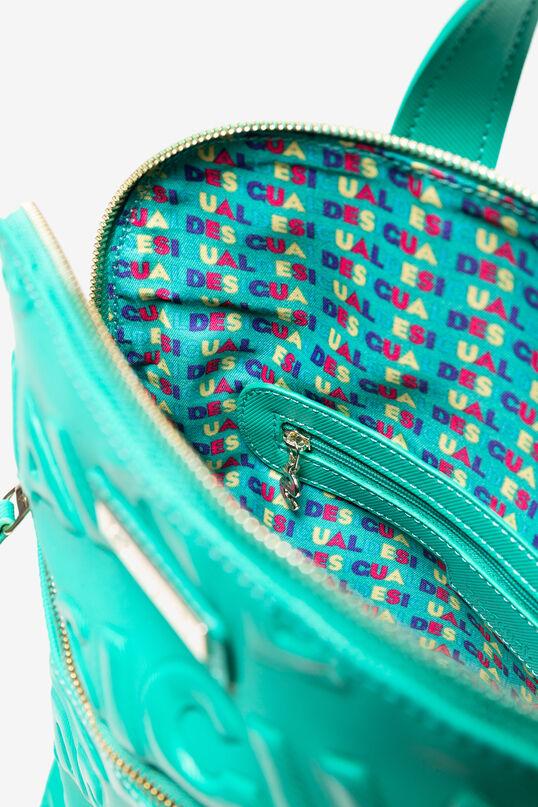 Plecak z kolorowym nadrukiem typu logomania | Desigual
