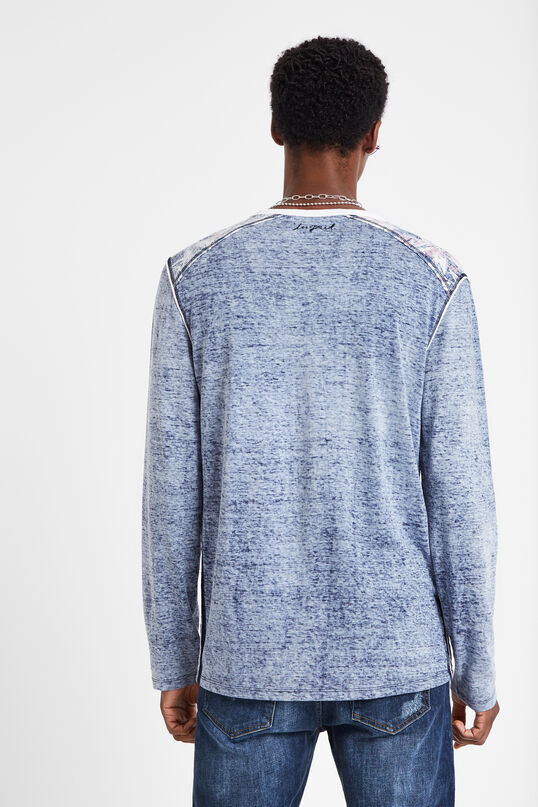 100% cotton long-sleeved T-shirt | Desigual