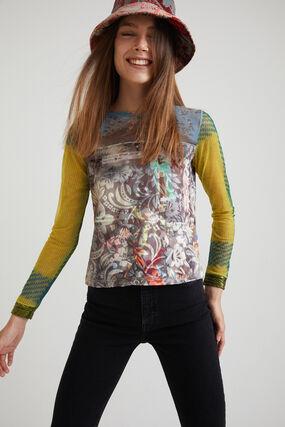 T-shirt slim arty