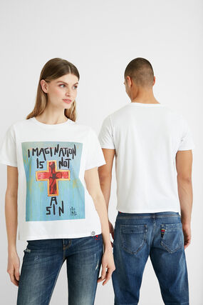 Illustration cotton T-shirt