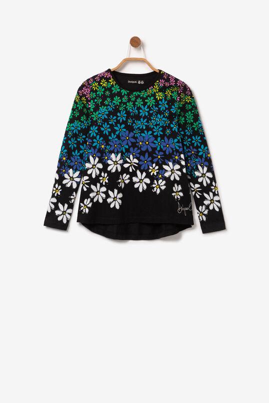 Multicoloured floral T-shirt | Desigual