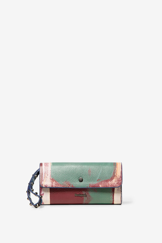 Reversible arty purse | Desigual