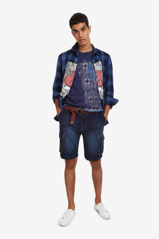 Cargo Shorts with Belt Akemi | Desigual