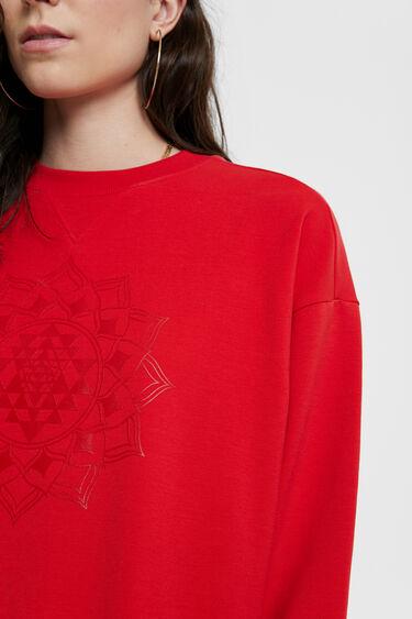 Oversize mandala sweatshirt   Desigual