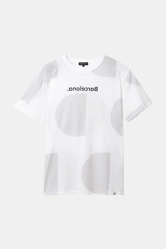 Barcelona Monogram T-shirt | Desigual