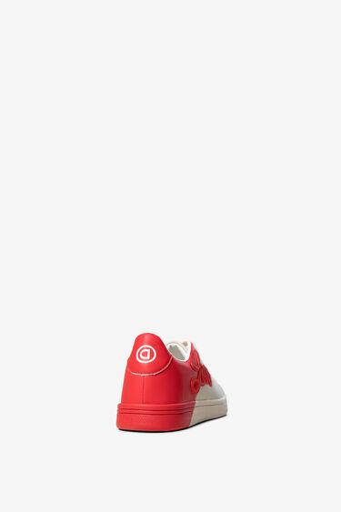 Bicolour patch LOVE sneakers | Desigual