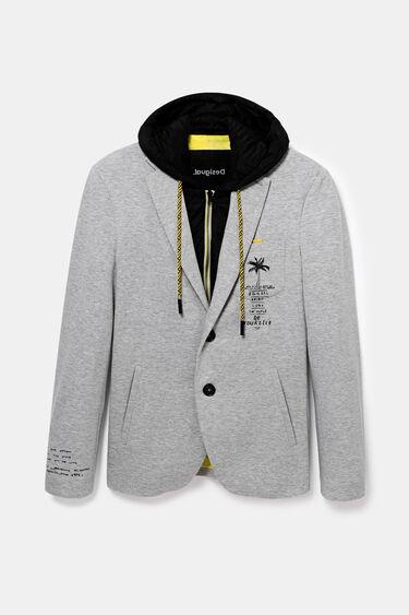 Blazer hooded sweatshirt | Desigual