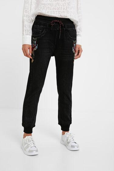 Pantalon jogger chevilles jean | Desigual