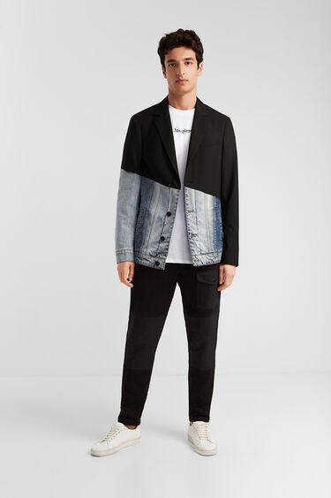 Hybrid blazer and sport jacket | Desigual