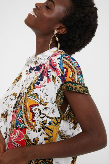 Boho floral shirt   Desigual