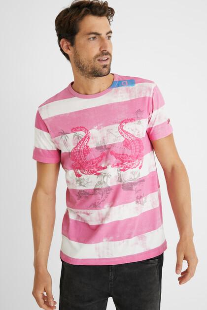 T-shirt coton imprimé