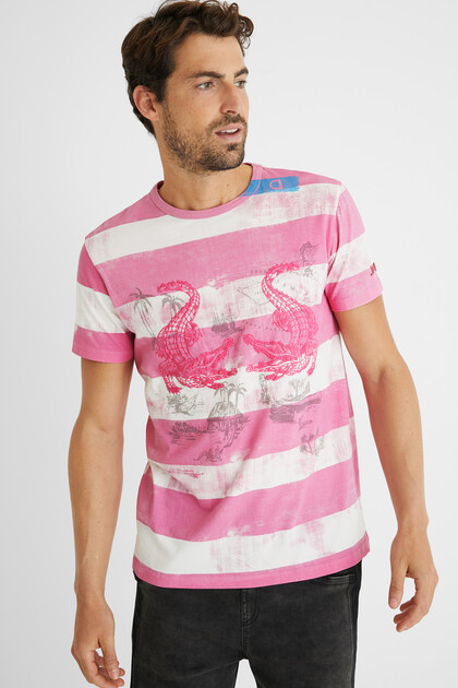 Cotton T-shirt printed