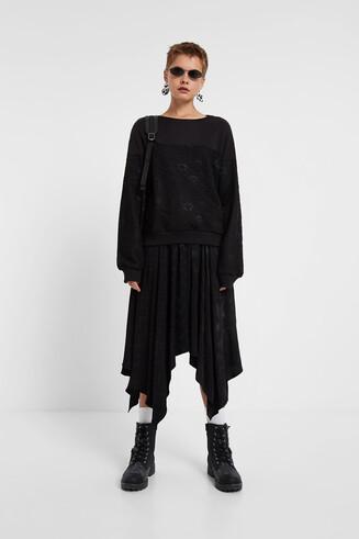 100% cotton lace jumper