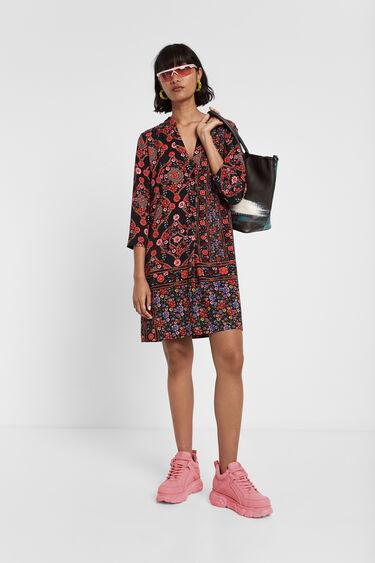 Boho floral dress | Desigual