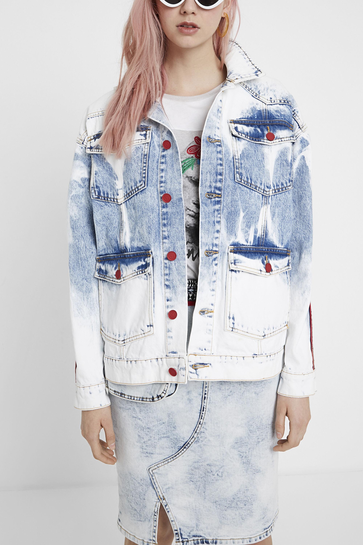 Giacca di jeans fregi Young Talents | Desigual