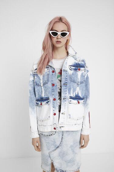 Veste en jean frises | Desigual
