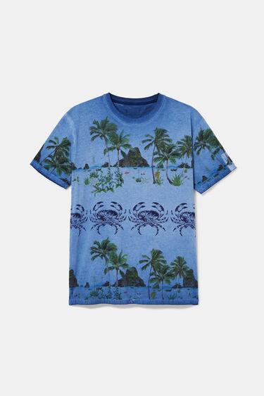 Tropisches Shirt 100% Baumwolle | Desigual