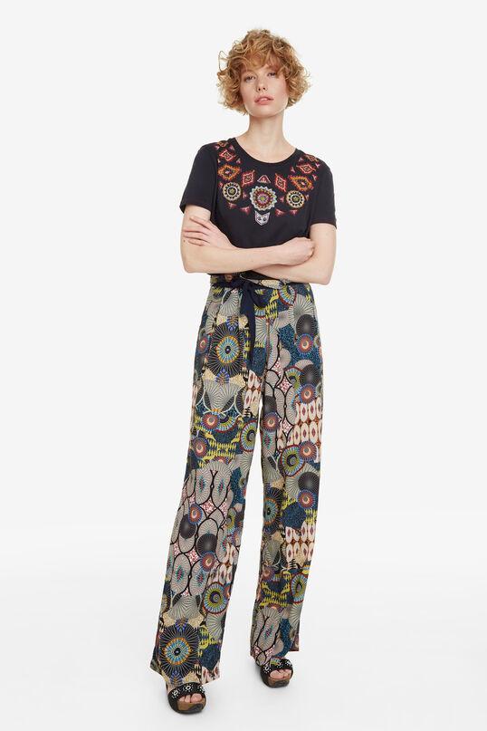 Basic Ethnic-Style T-shirt Quetzal | Desigual