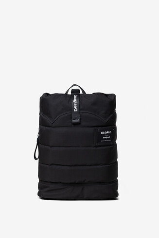Ecoalf roll-up backpack