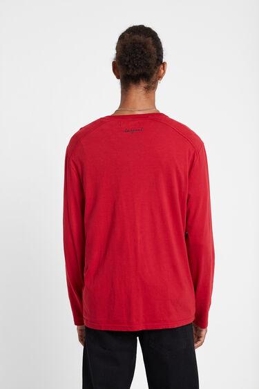 Regular Mandarin collar T-shirt   Desigual