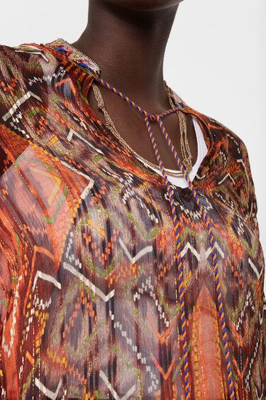 Boho print blouse | Desigual