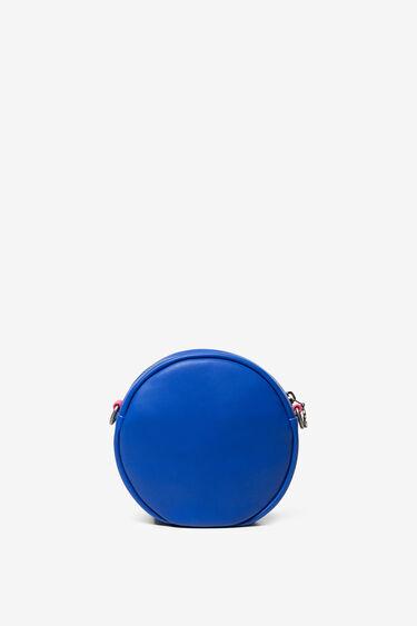 Reversible sequins round bag | Desigual