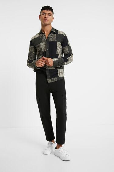 Pantalon slim cordon | Desigual