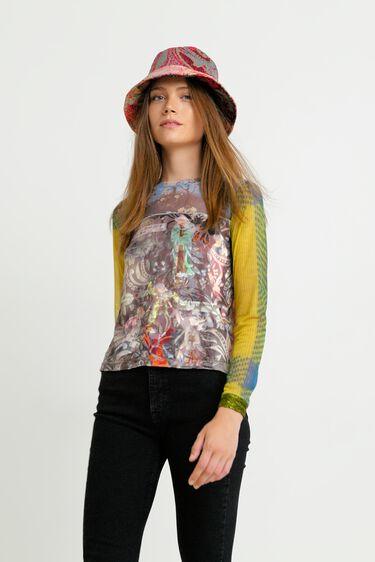 Arty Shirt im Slim Fit | Desigual