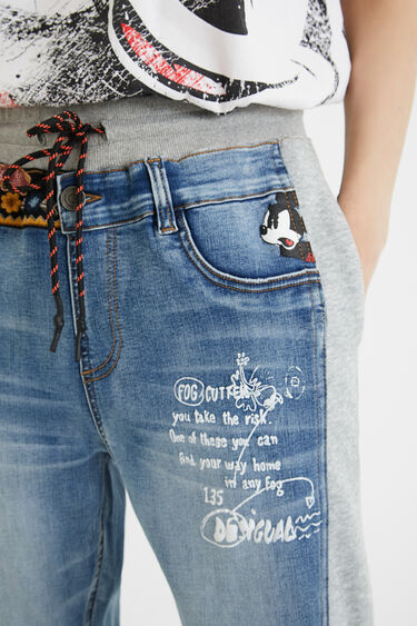 Mickey Mouse jogger trousers | Desigual
