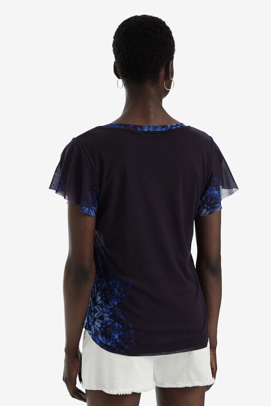 Short-sleeved studs T-shirt | Desigual